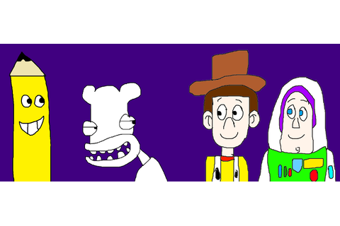 Wild Woody, Woody and Buzz Meeting Ding Dong by ...