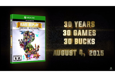 Rare Replay Pack of 30 Games for Xbox One - #CUPodcast ...