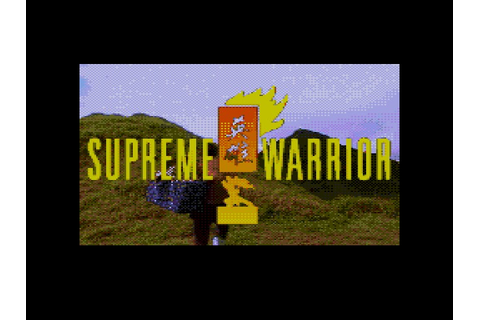 Supreme Warrior Details - LaunchBox Games Database