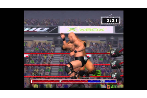 WWF Raw - Gameplay Xbox HD 720P - YouTube