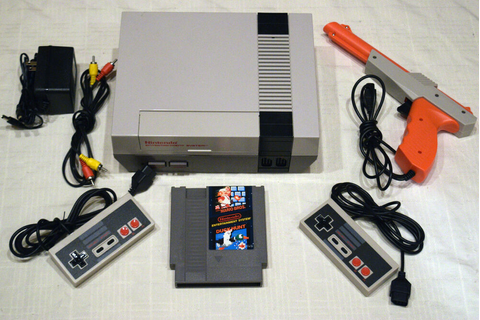 Nintendo NES Console Video Game System Complete Super ...