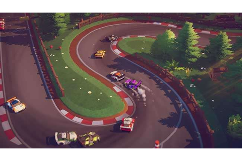 Circuit Superstars is a cute arcade-style racing game ...