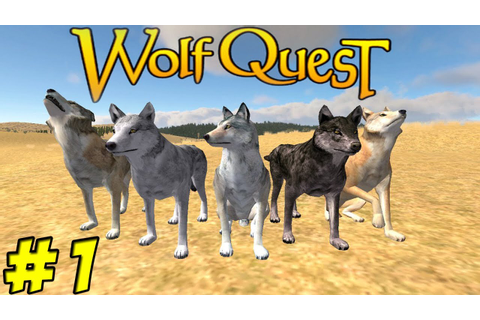 WolfQuest Part 1 - Dave - YouTube