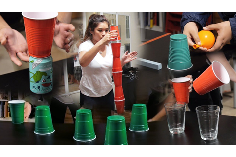 8 Fun & Cheap Party Games with Cups (Minute to Win It ...