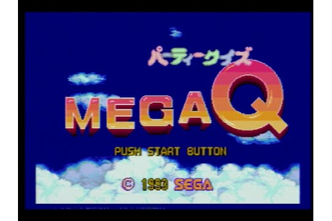 Party Quiz Mega Q (Sega Genesis/1993) - YouTube