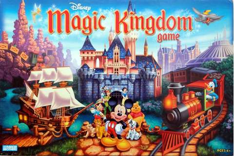 Disney Magic Kingdom Game | Board Game | BoardGameGeek