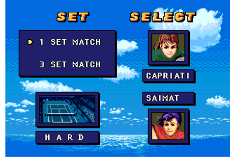 Download Jennifer Capriati Tennis (Genesis) - My Abandonware
