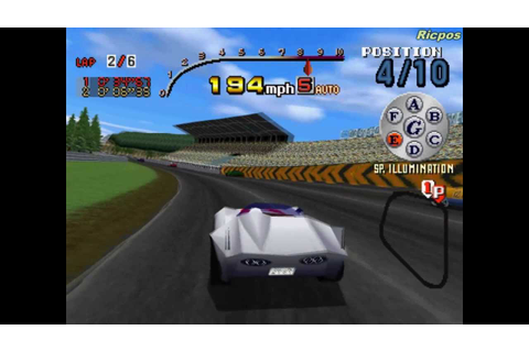PS1 - Speed Racer - Gameplay - YouTube