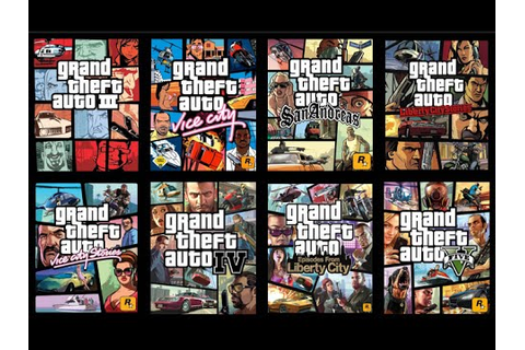 GTA History - ALL Grand Theft Auto games (GTA1, GTA2, GTA3 ...