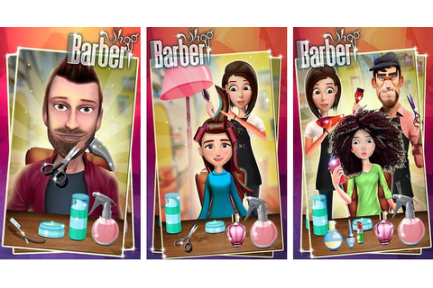 Barber Shop Hair Salon Beard Hair Cutting Games - DOWNLOAD ...