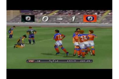 J-League Winning Eleven 2001 - JOMO Cup - YouTube