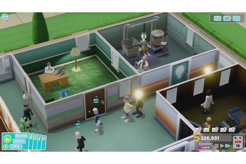 Two Point Hospital Reveals First Extended Gameplay ...