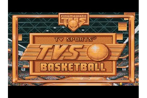 TV Sports: Basketball gameplay (PC Game, 1990) - YouTube