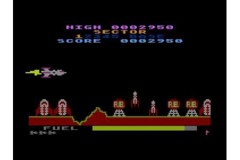 caverns of mars 2 for Atari 8-bit - YouTube