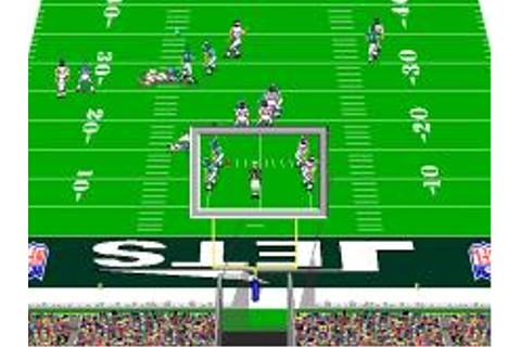 NFL Pro League Football Download (1995 Sports Game)