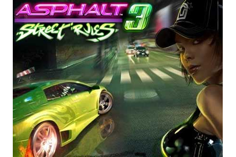 Asphalt 3 Street Rules ~ GAME XONE
