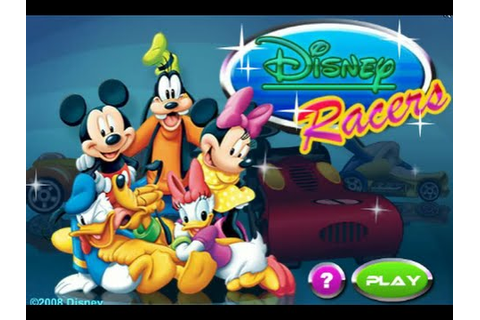 Mickey and Friends Disney Racers! Disney Mickey Mouse Clup ...