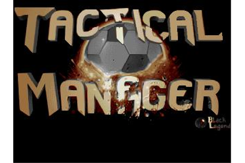Tactical Manager Download (1994 Sports Game)
