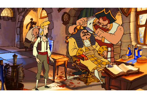 Now is the perfect time to play The Curse of Monkey Island ...