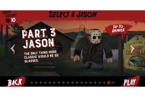 Win A Part 3 Jason Voorhees DLC For Friday The 13th ...