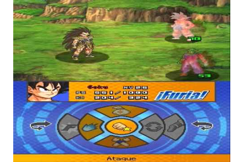 Dragon Ball Z: Attack Of The Saiyans (DS) - Batalla contra ...