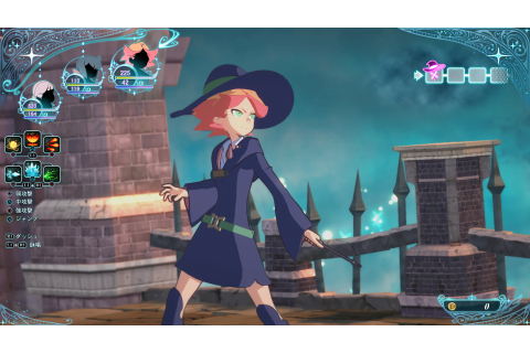 Little Witch Academia: Chamber of Time looks incredible in ...
