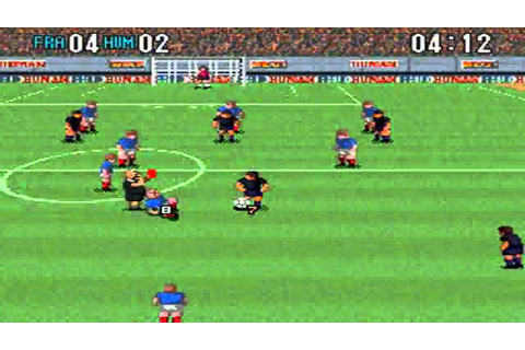 Super Formation Soccer 2 : France Vs Human - YouTube