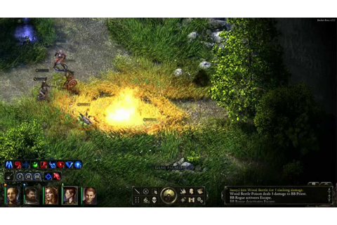 Pillars of Eternity Gameplay Gamescom 2014 - YouTube