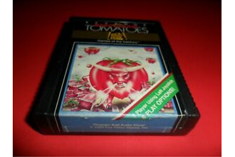 Atari 2600 Revenge of the Beefsteak Tomatoes Game ...