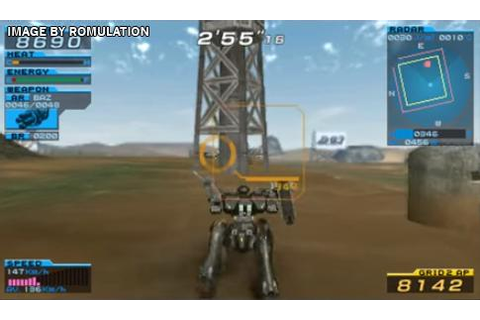 Armored Core - Formula Front Extreme Battle (USA) PSP ...