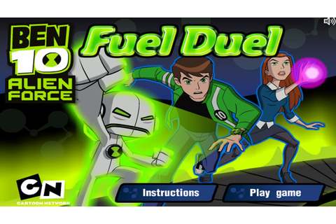 Cartoon Network Games | Ben 10: Alien Force | Fuel Duel ...