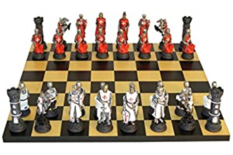 Amazon.com: Crusades Chess Set: Toys & Games
