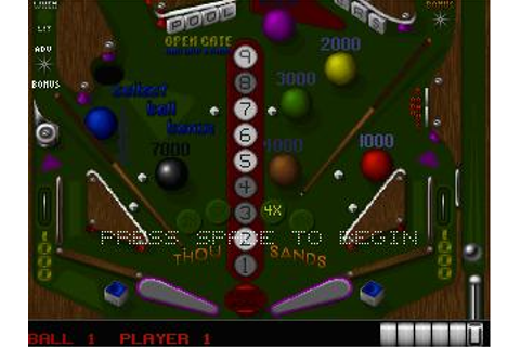 Silverball Download (1993 Arcade action Game)