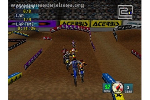 Jeremy McGrath Supercross 2000 - Nintendo N64 - Games Database