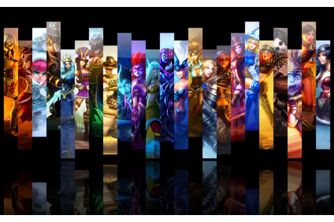 League Of Legends, Video Games, Characters,Girls, Fighters ...