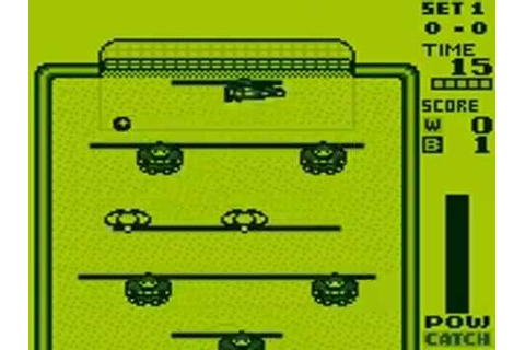 Magnetic Soccer [Game Boy] - YouTube