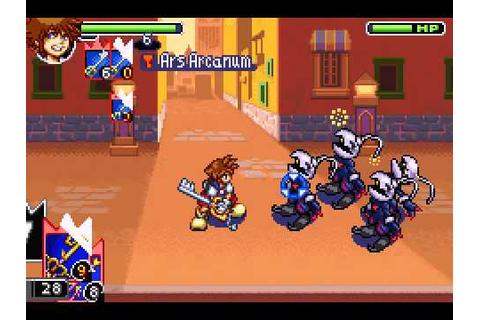 Kingdom Hearts: Chain of Memories (GBA) - YouTube