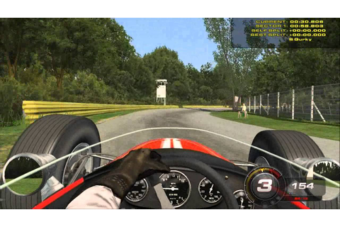 rFactor 2: Brabham BT20 / 2 Laps at Brianza 1966 - YouTube