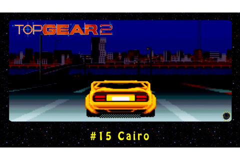 Top Gear 2 (SNES) #15 Cairo - YouTube