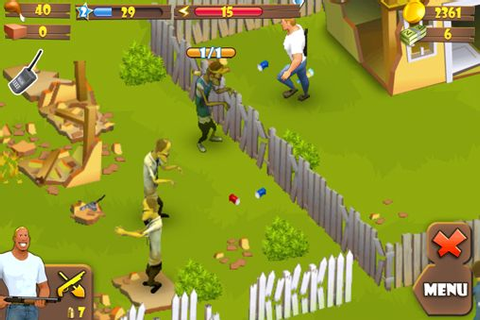 Zombie lane iPhone game - free. Download ipa for iPad ...