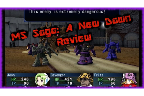 MS Saga: A New Dawn Review (PS2) - BawesomeBurf - YouTube