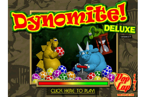 Download Game: DYNOMITE DELUXE 2.71 FULL VERSION