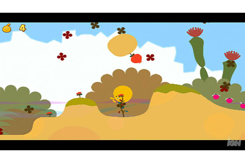 LocoRoco 2 Sony PSP Gameplay - Level 1 - YouTube