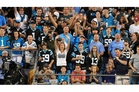 Charlotte police apprehend fan in assault at Panthers game