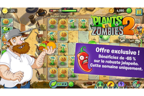 Plantes contre Zombies 2 : It's About Time : images du jeu ...