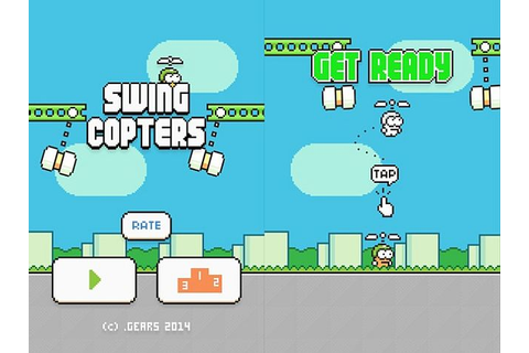 Swing Copters - Flappy Bird Creator's New Game - Is Even ...