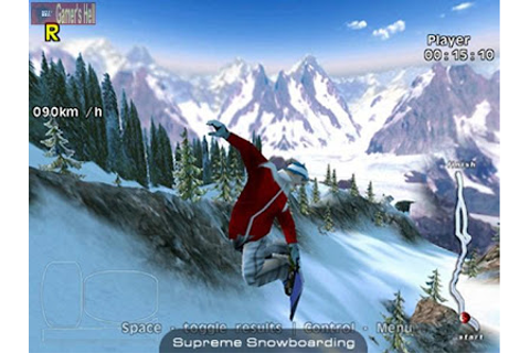 Free Download PC Games: Supreme Snowboarding