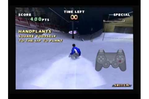 Shaun Palmers Pro Snowboarder Ps2 Gameplay - YouTube
