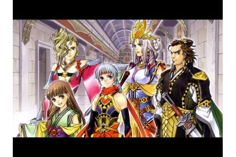 Suikoden 5 Last Battle + True 108 Stars Ending PS3 HD 720p ...