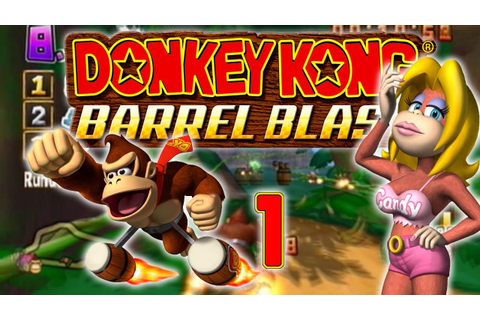 Let's Play Donkey Kong: Jet Race Part1 - Ein affiges Spiel ...